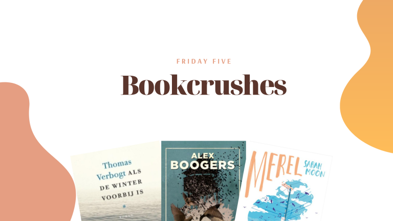 Friday Five: Bookcrushes