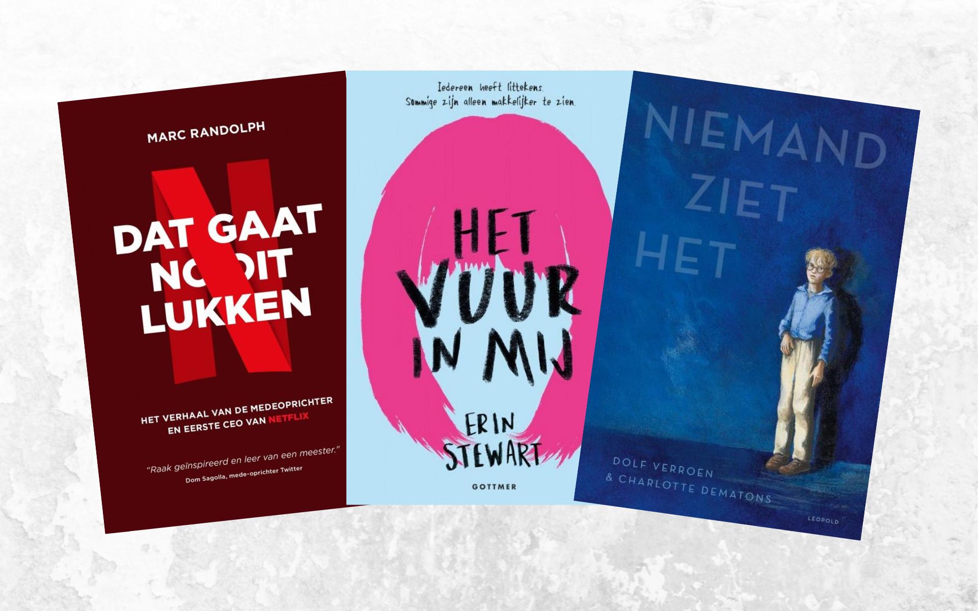 nieuwe boeken oktober 2019 dolf Verroen Netflix het vuur in mij