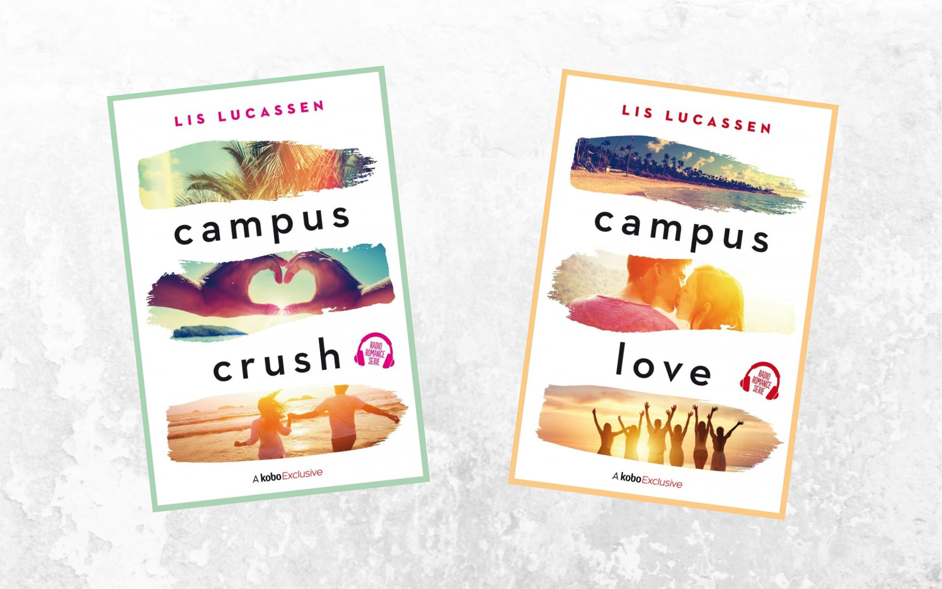 Lis Lucassen Campus Crush Campus Love Radio Romance boeken
