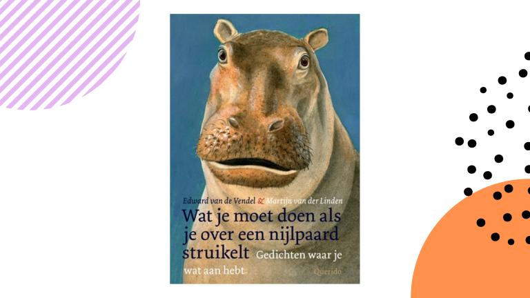 Recensie: Wat je moet doen als je over een nijlpaard struikelt - Edward van de Vendel