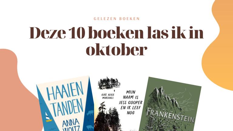 Deze 10 boeken las ik in oktober