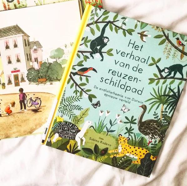 Ik las drie prentenboeken: Kersenhemel, Mevrouw Justien & Het verhaal van de reuzenschildpad