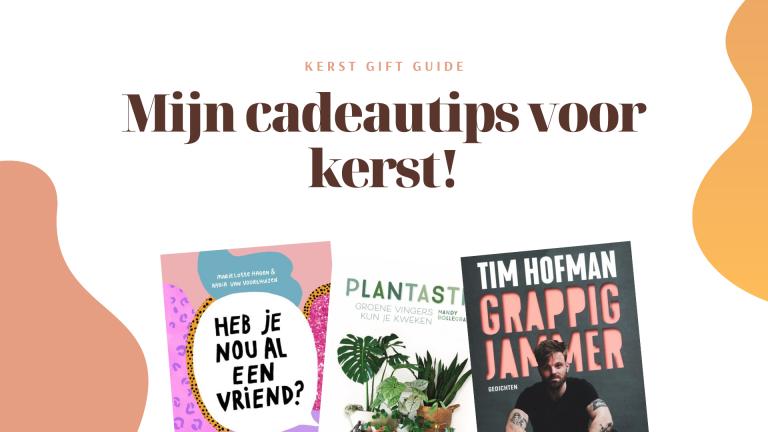 Kerst Gift Guide 2019: welke boeken ik je zou aanraden om cadeau te doen