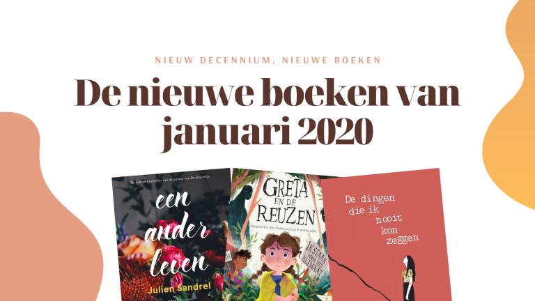 De nieuwe boeken waar ik naar uitkijk in januari