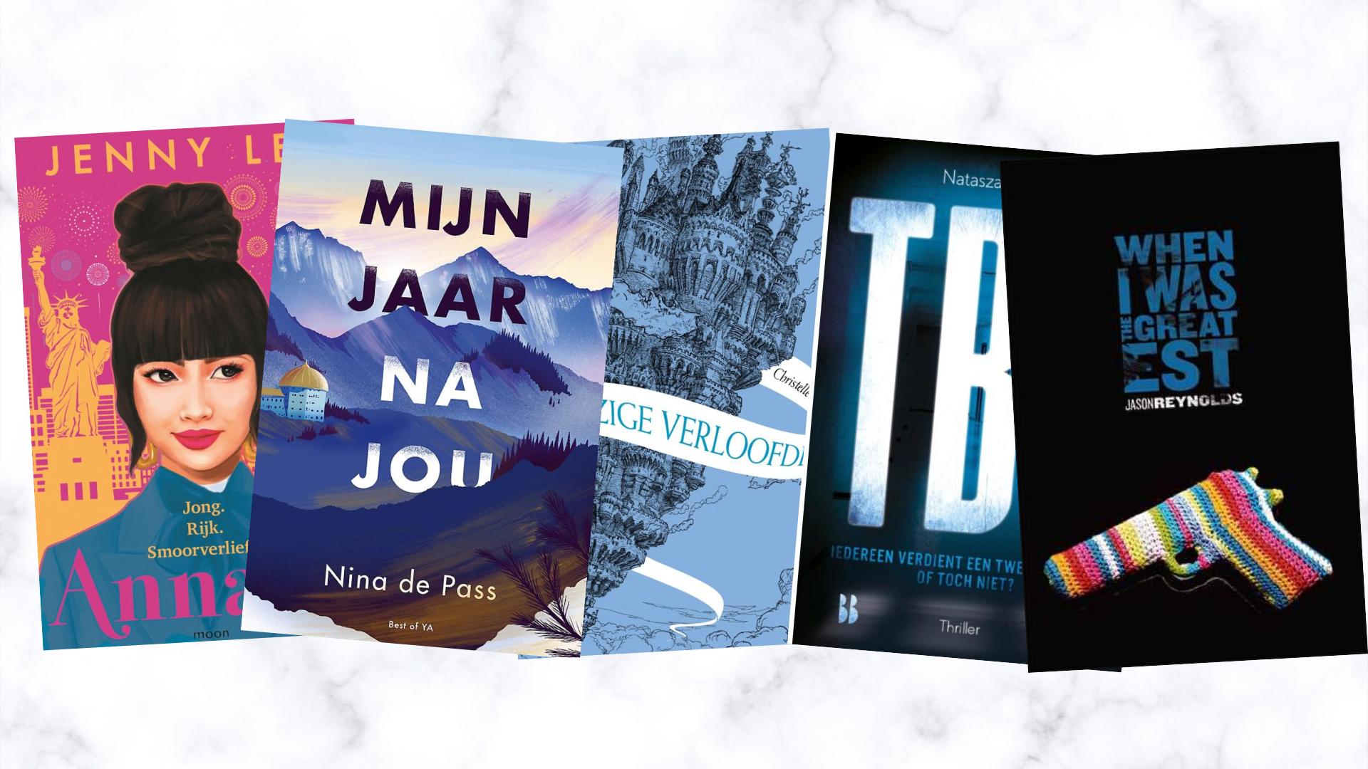 De nieuwe boeken waar ik naar uitkijk in april