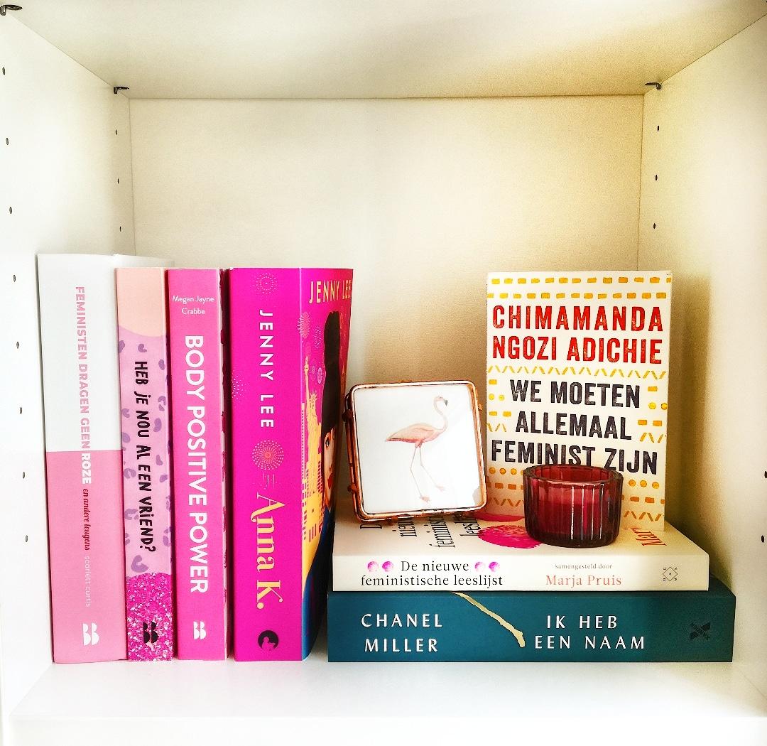 boekenkast feministische boeken