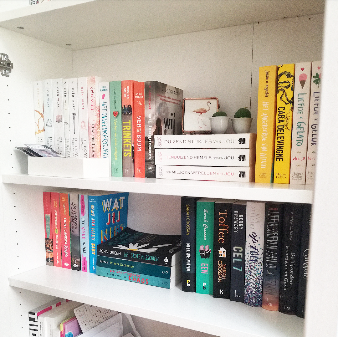 Op mezelf #2 - Mijn boekenkast indelen