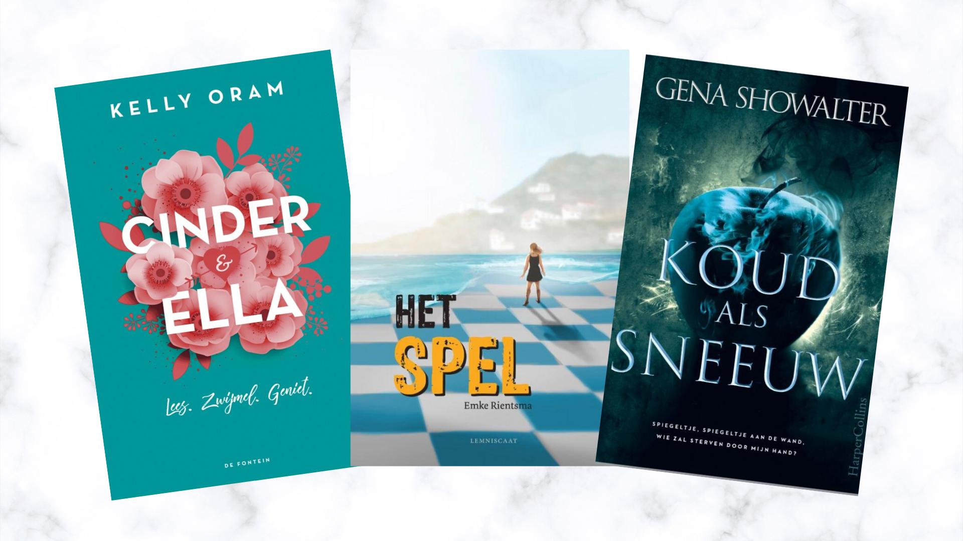 nieuwe boeken Gena showalter cinder & Ella