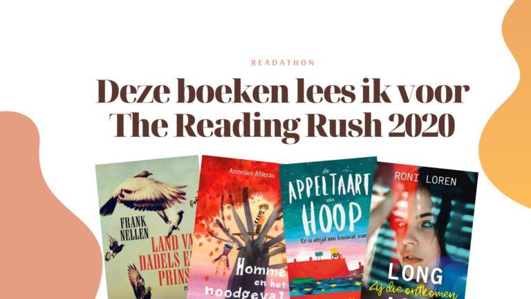 The Reading Rush 2020: Deze boeken ga ik lezen