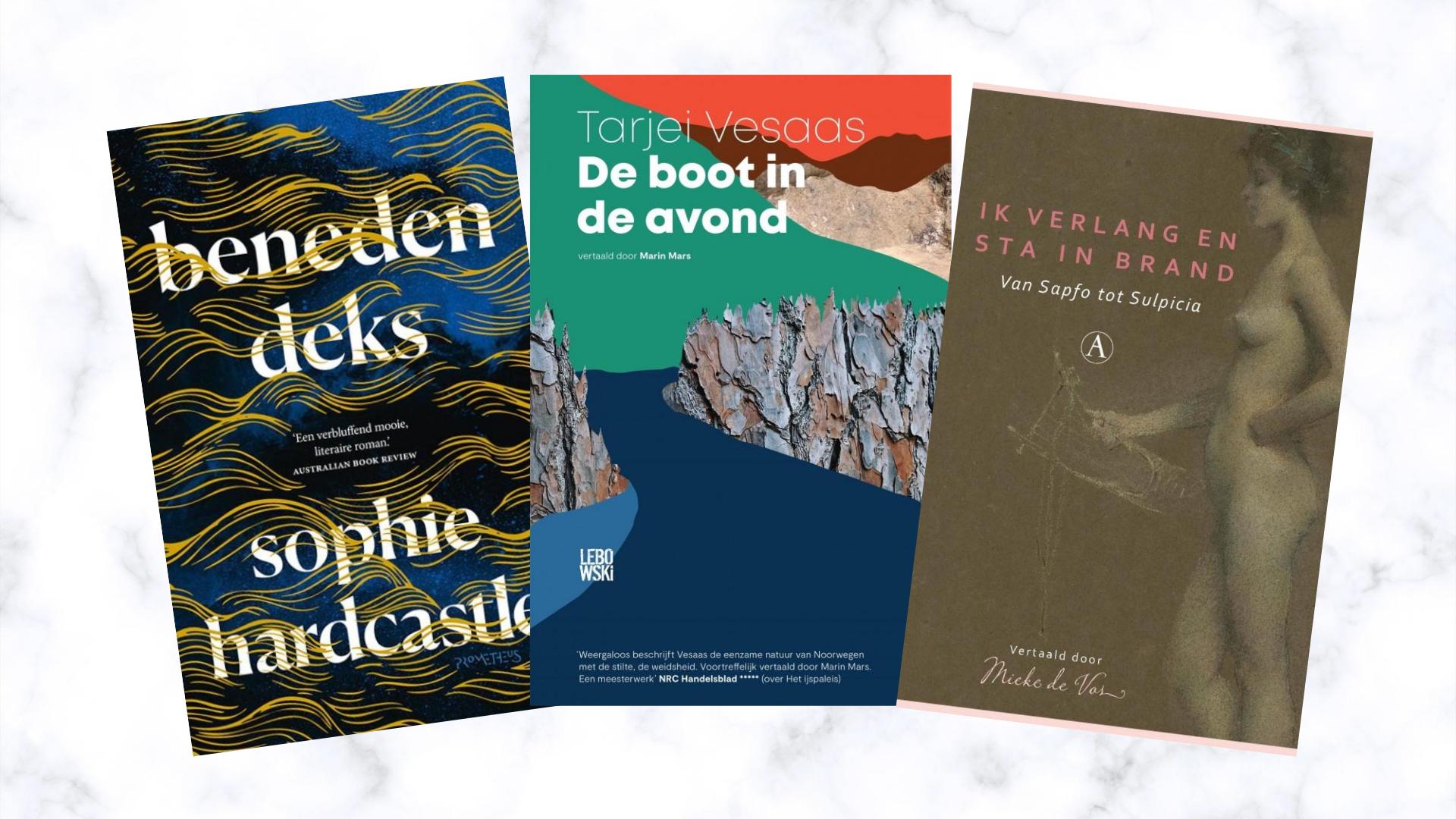 nieuwe boeken augustus 2020