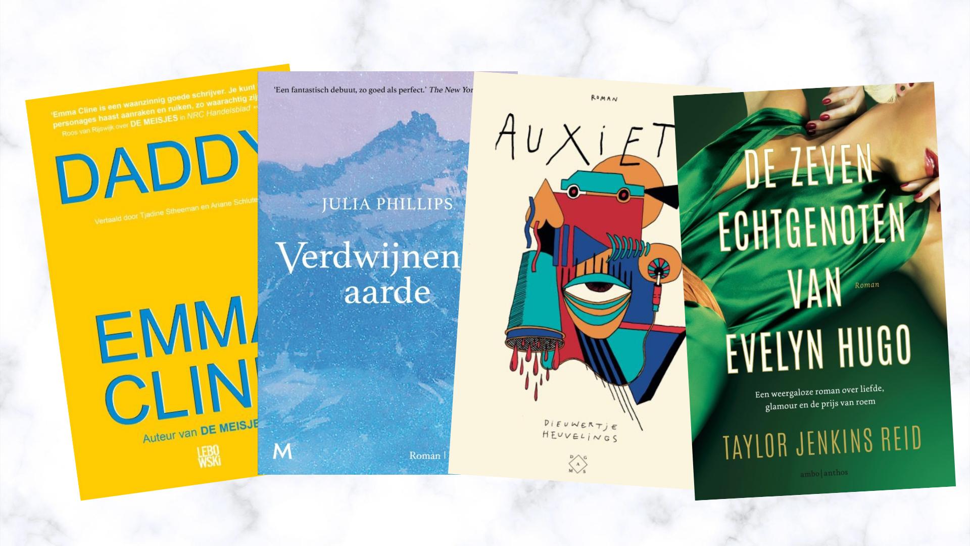 Dit zijn de nieuwe boeken waar ik naar uitkijk in september