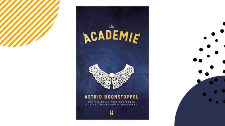 Recensie: De academie - Astrid Boonstoppel