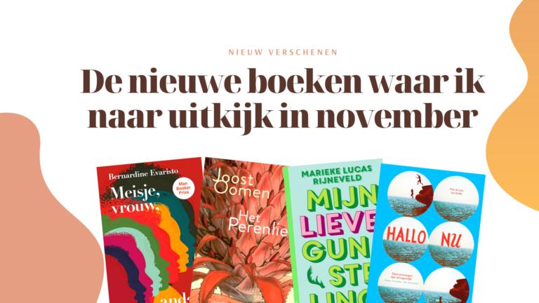 boeken nieuw november 2020