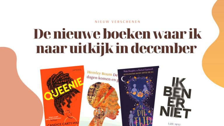 nieuwe boeken in december Lize Spit Queenie