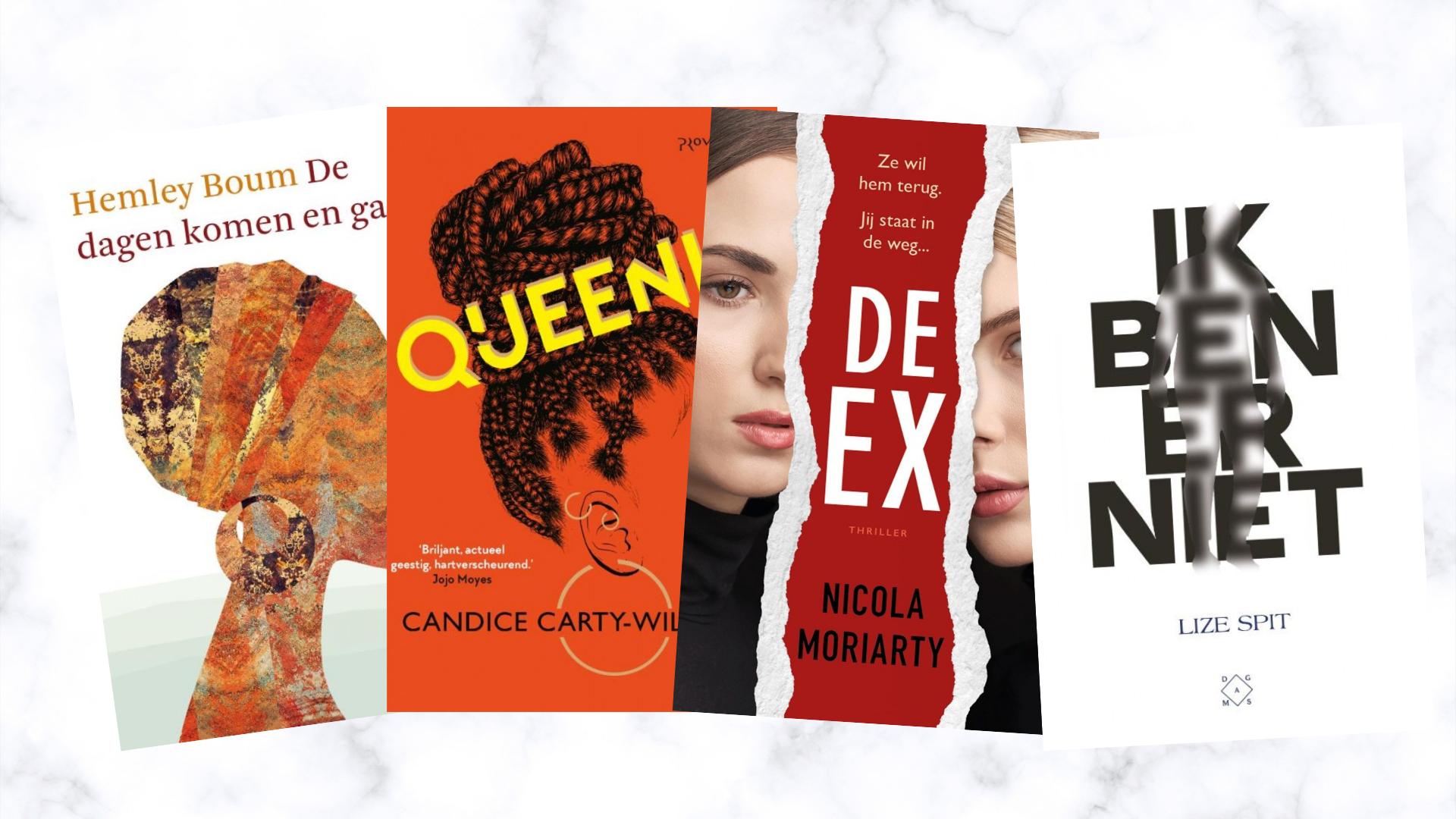 Dit zijn de nieuwe boeken waar ik naar uitkijk in december